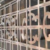 厂家供应铝板雕刻铝窗花-雕花铝窗花