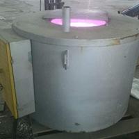 坩埚式电阻熔铝炉 150KG机边炉