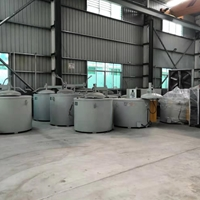 500KG坩埚式熔炉 铝合资金化炉