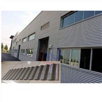 廠房橫鋪裝836型鋁鎂錳波紋墻面板