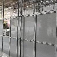 鋁型材機器人防護圍欄廠家定制上門安裝
