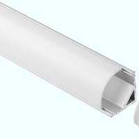 LED硬灯条铝槽外壳 软硬灯条外壳