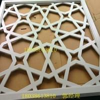 雕刻铝窗花_电焊铝窗花厂