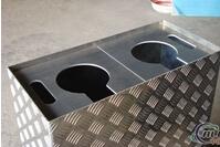 铝板钣金加工激光切割铝板折弯冲孔定制厂家
