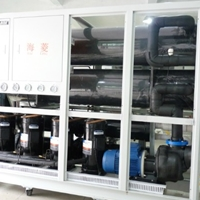 耐腐蝕冷卻機耐酸堿用冷凍機冷水機