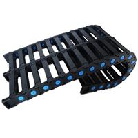 尼龙拖链 桥式工程塑料拖链厂家