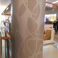 艺术不规则冲孔铝板-艺术3D打印铝单板