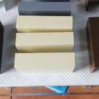 鋁方通,吊頂木紋色鋁方通,u型鋁方通定制