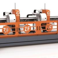 雙頭6.5米三軸BT40型材加工中心