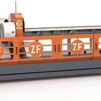6.5米三軸BT40型材加工中心