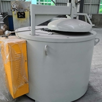 1000KG坩堝爐 碳化硅坩堝爐