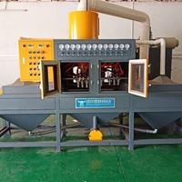 输送式自动喷砂机 小型智能喷砂机