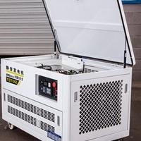 大泽动力 小功率12kw静音汽油发电机