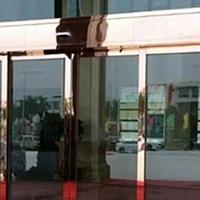 电动感应门 不锈钢玻璃门
