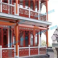 中式护栏仿古建材 铝合金栏杆护栏批发