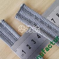 耐高溫金屬網帶 不銹鋼纖維機織帶廠家