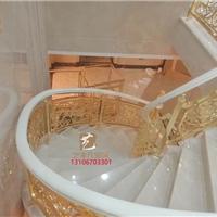 造型美觀的旋轉樓梯護欄農村別墅