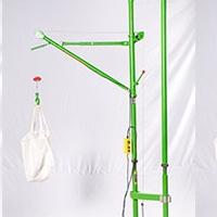 室內雙柱簡易吊機固定方法-快速家用吊機