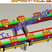 高速軌道式環行線,環形導軌工作臺