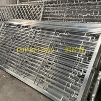 戶外墻面裝飾鋁花格-熱轉印鋁窗格廠家