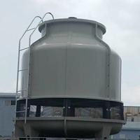 350T冷卻塔350噸冷卻塔清洗工業圓形冷卻塔