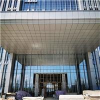 亞朵酒店上落客區形象門頭鋁板 雨棚鋁單板