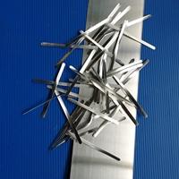 厂家直销KN95防护用品用铝鼻梁条铝条铝带