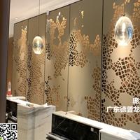 酒店餐饮业背景墙有孔无孔铝单板实际单价