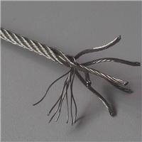 不锈钢丝绳304材质包胶金属丝绳 非标可定制