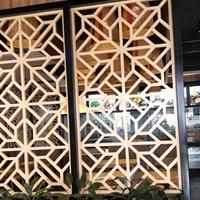 厂家定制任意尺寸别墅仿古铝窗花