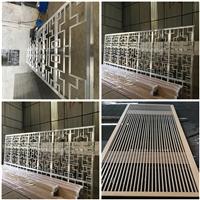 水电站改造材料烤漆铝窗花价格