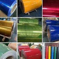 大红色和金色彩涂铝卷哪里有做的?涂层铝板厂