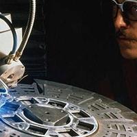 金屬自動激光焊接機 金屬字激光焊接機器