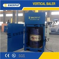 小型现货油桶压扁机 品质保证