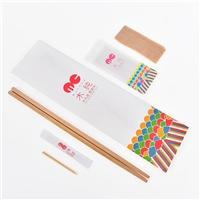 廠家生產鋁箔包裝袋一次性筷子套裝飯店專用