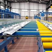 启程达铝型材挤压输送生产线(冷床)