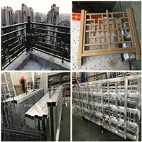 铝窗花焊接花格-仿古铝窗花厂家价格