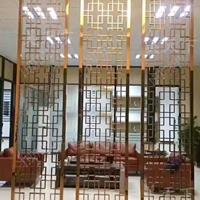 南宁东盟展览中心仿古铝花窗-铝花格窗定做