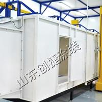 鋁型材涂裝線 靜電粉末噴涂生產線