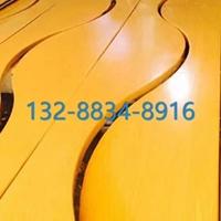 聚酯粉末覆膜玫瑰金仿古铜酒店铝合金方通造型的