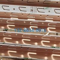 條形間隔手感木紋4S店/售樓部鋁扣板天花收邊條