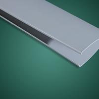 室内吊顶搪瓷光铝双色5系铝镁合金金属条形格片吊顶效果图