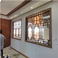 材料喷涂外墙铝窗花直销