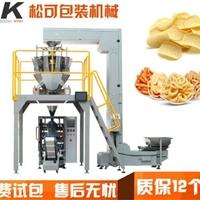 吉林锅巴食品自动定量包装机
