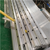 供應鋁方管 打孔 焊接 可定制