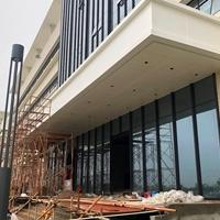 福建長樂汽車站出站口裝飾鋁單板