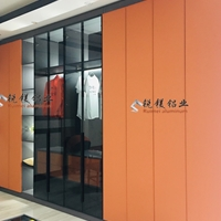 全铝合金型材全铝家具防木纹全铝衣柜材料成批出售
