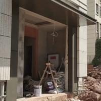 楼房售卖部门头铝单板 屋檐铝板包边材料