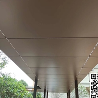 连廊装饰铝单板材料 古铜色铝单板价钱