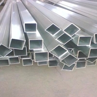 A5454氧化铝方管、6060铝合金管